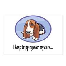 Bassett Puppy Postcards (Package of 8)