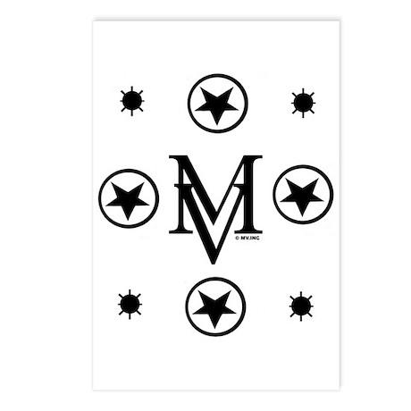 Big MV Monogram Postcards (Package of 8)