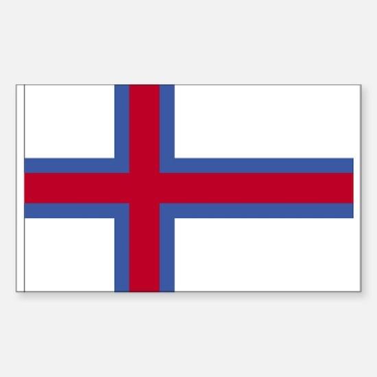 Faroe Islands Rectangle Decal