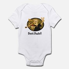 Best Buds! Infant Bodysuit