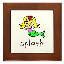 Splash Framed Tile