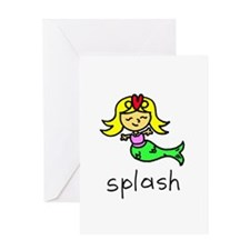 Splash Greeting Card