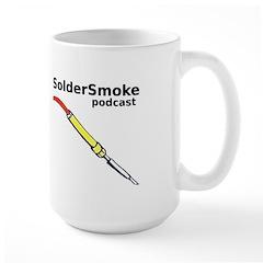 SolderSmoke Large Mug