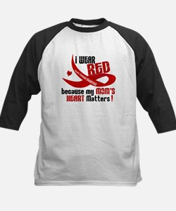 Red For My Mom Heart Disease Shirt Tee