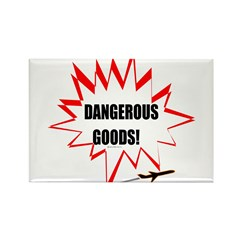 Dangerous Goods! Rectangle Magnet