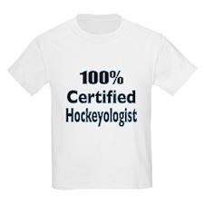 100% Certified Hockeyologist T-Shirt