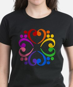 Bass Clef Flower Tee