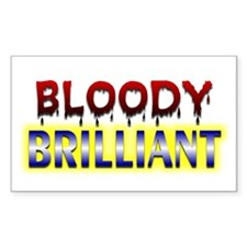 Bloody Brilliant - Rectangle Decal
