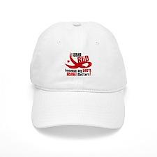 I Wear Red For My Dad Heart Disease Baseball Cap