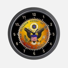 U.S. Supreme Court Wall Clock