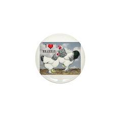 I Love Brahmas Mini Button (100 pack)