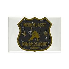 Medical Asst Ninja League Rectangle Magnet