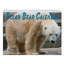 Polar Bear Wall Calendar