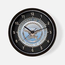 Defense Dept. (D.O.D.) Wall Clock