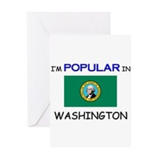 I'm Popular In WASHINGTON Greeting Card