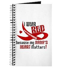 Red For My Nana Heart Disease Journal