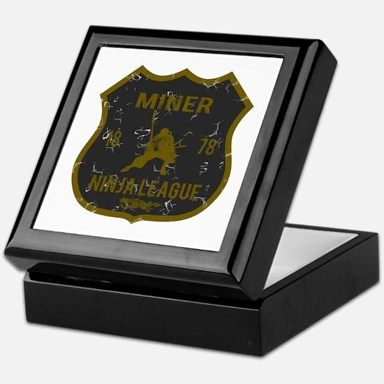 Miner Ninja League Keepsake Box
