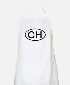 Switzerland - CH - Oval BBQ Apron