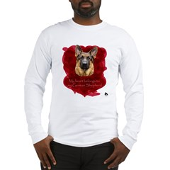My Heart Belongs to My German Long Sleeve T-Shirt