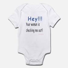 Checking me out Infant Bodysuit