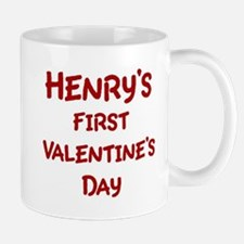 Henrys First Valentines Day Mug