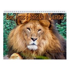 Lions,Tigers & Bears... Wall Calendar