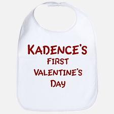 Kadences First Valentines Day Bib