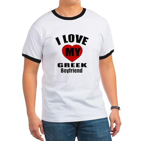 I Love My Greek Boyfriend Ringer T