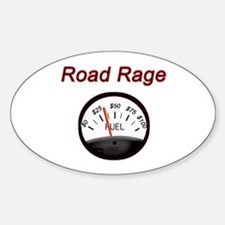 Road Rage Oval Decal