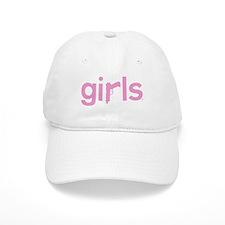 Gun's are for GIRLS (pink) - Baseball Baseball Cap