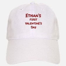 Ethans First Valentines Day Baseball Baseball Cap