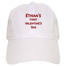 Ethans First Valentines Day Baseball Cap