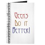 Geeks do it Better Journal