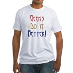 Geeks do it Better Fitted T-Shirt