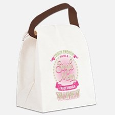 Unique Single moms Canvas Lunch Bag