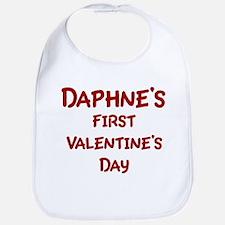 Daphnes First Valentines Day Bib