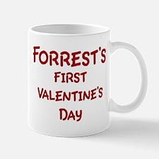 Forrests First Valentines Day Mug