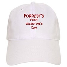 Forrests First Valentines Day Baseball Cap
