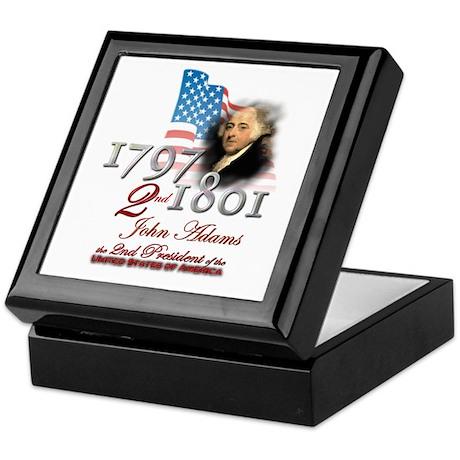 2nd President - Keepsake Box