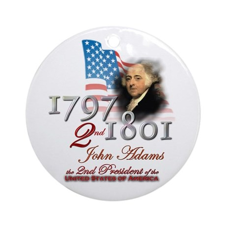 2nd President - Ornament (Round)