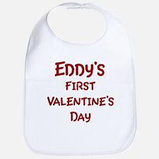 Eddys First Valentines Day Bib