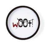 w00t! (woot) Gamer Wall Clock