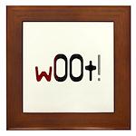 w00t! (woot) Gamer Framed Tile
