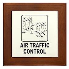 Air Traffic Control Framed Tile