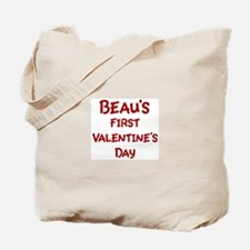 Beaus First Valentines Day Tote Bag