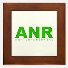 """A Natural Redhead"" Framed Tile"