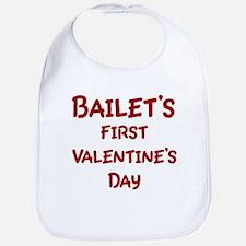 Bailets First Valentines Day Bib