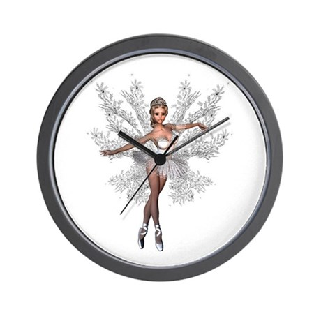 Fade Into White Wall Clock
