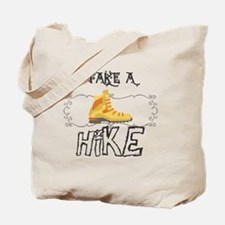 Funny Hiking Tote Bag