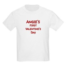 Angies First Valentines Day T-Shirt